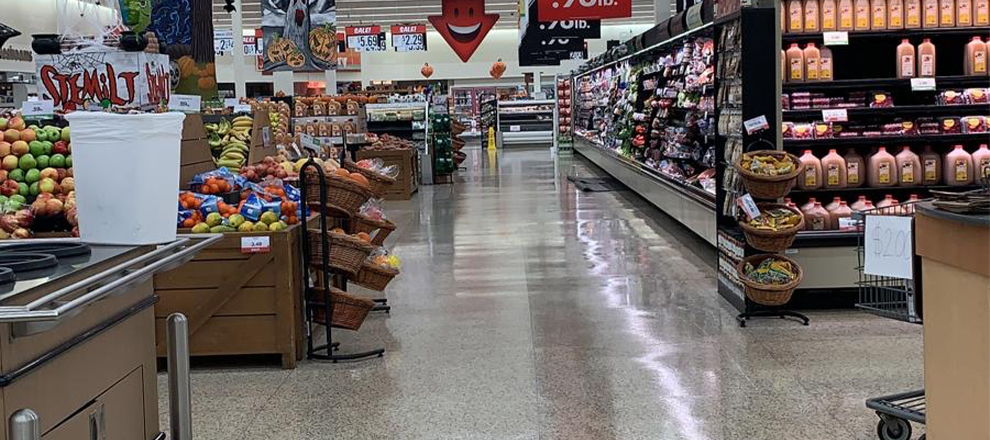grocery store floors
